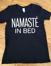 namaste in bed black